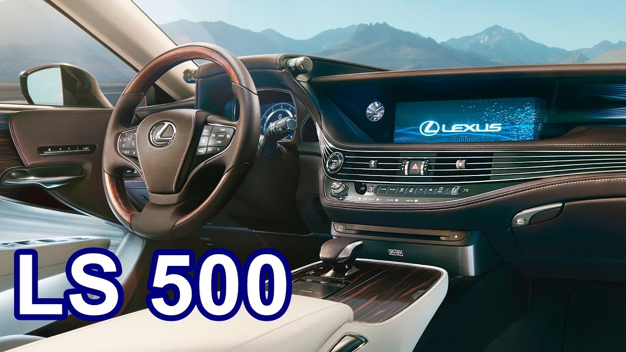 2018 Lexus Ls 500 Interior Youtube