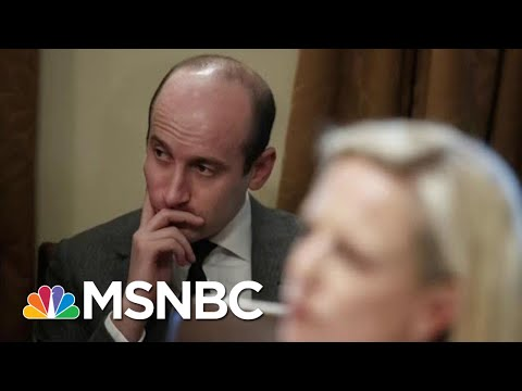 On Immigration, President Donald Trump Putting Stephen Miller In Charge | Hardball | MSNBC