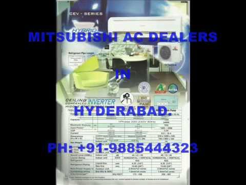 Mitsubishi Air Conditioners Dealers In Hyderabad   9885444323
