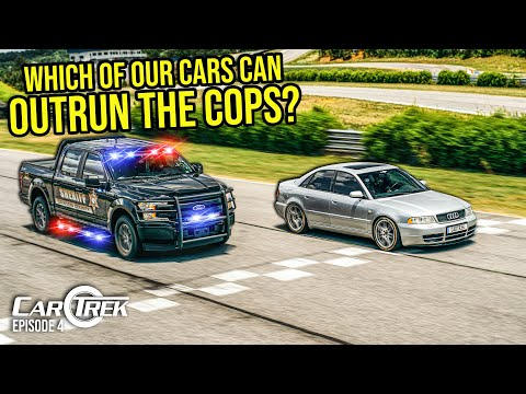 Which Of Our Cars Can Actually Outrun The Cops?   Car Trek S5E4