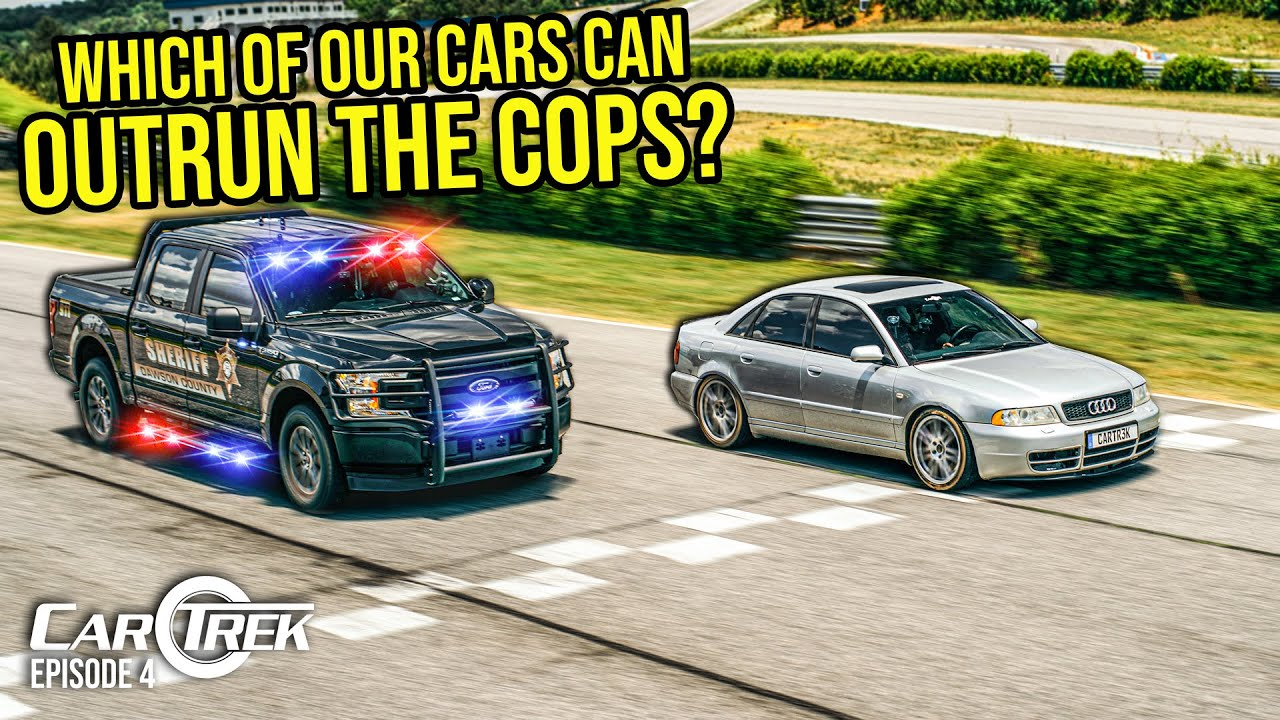 Download Which Of Our Cars Can Actually Outrun The Cops? | Car Trek S5E4