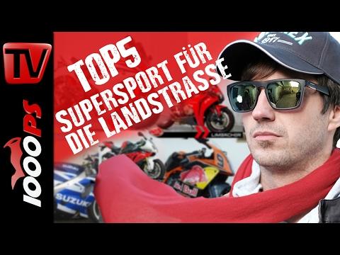 Top 5 - Die besten Supersportler für die Landstraße