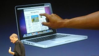 Why Macs Don't Have Touch Screens