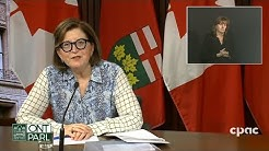 Ontario health officials provide COVID-19 update – April 28, 2020