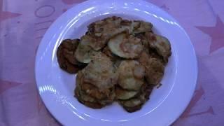 Zucchini eier pfanne Rezept/Pohovane tikvice recept