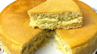 BASIC SPONGE CAKE - سپنج کیک - स्पंज केक *COOK WITH FAIZA*