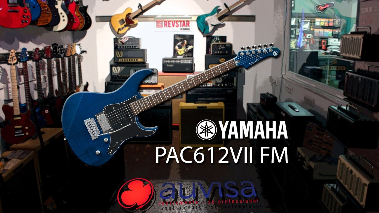 hight resolution of review yamaha pacifica 612 vii fm