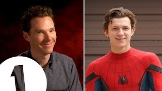 Benedict Cumberbatch's Tom Holland impression is PERFECT. thumbnail