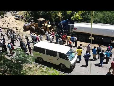 When Chiweta road is blocked in north Malawi
