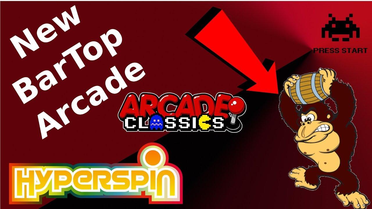 Latest Build Bartop Arcade Hyperspin 11 In 1 Emulators