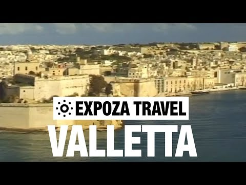 Valletta (Malta) Vacation Travel Video Guide