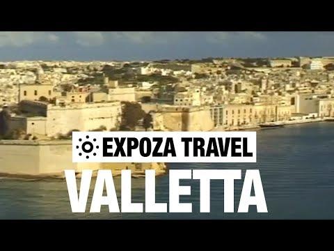 Valletta (Malta) Vacation Travel Video Guide