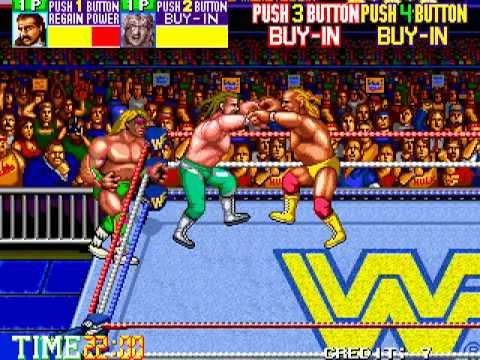 Arcade Longplay [244] WWF Wrestlefest