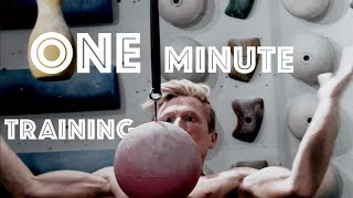 ONE MINUTE OF TRAINING