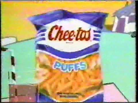 chester cheetah cheetos puffs commerical 1989 youtube