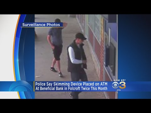 Police Warning Public Of ATM Skimmers In Folcroft