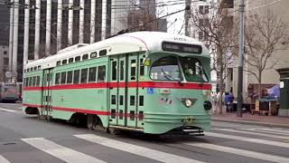 Trains and Trolleys of San Francisco 2018 (6 Different Modes of Transit!!)