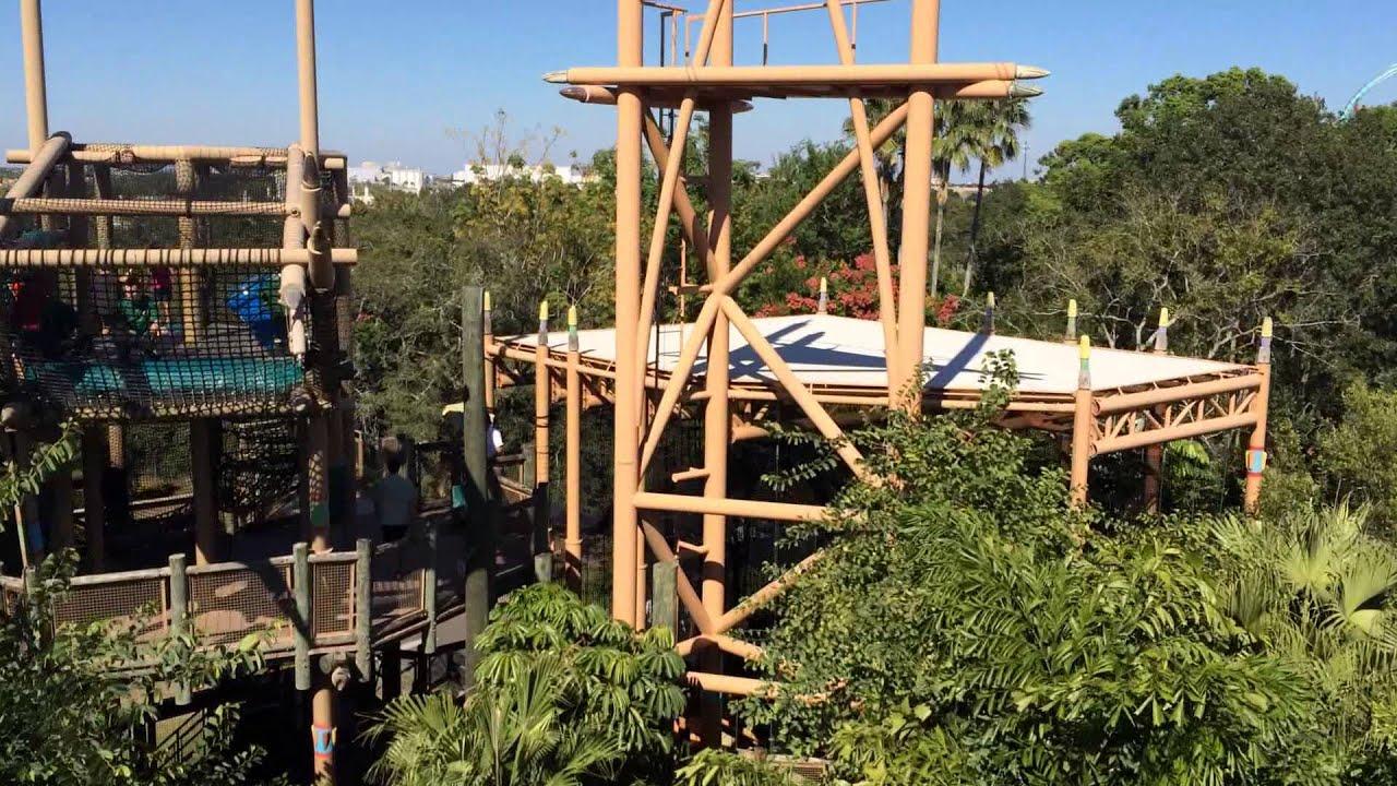 Zip Line Chair - Busch Gardens 2014 - YouTube