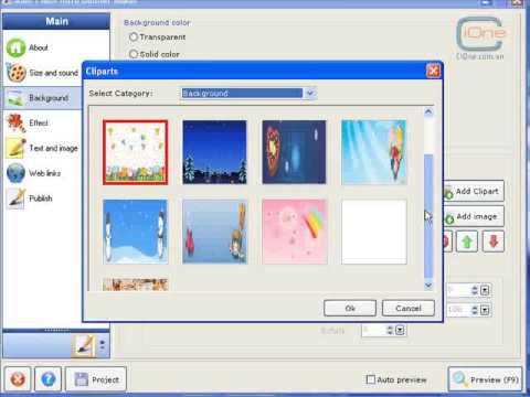 Tạo Banner Flash đẹp mắt một cách nhanh chóng với Flash Intro Banner