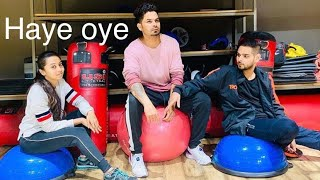 Haaye oye - Dance choreography QARAN ft Ash king |Elli AvRam | Shantanu Maheshwari #mydaysonembark