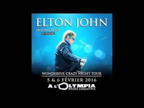 Elton John  - A Good Heart - Live in Paris FM Broadcast Feb 2016