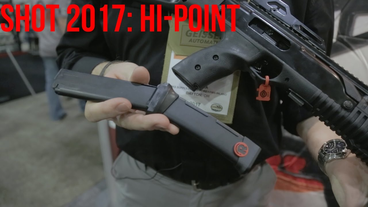 New Hi-Point Carbines and Red Ball 20rd Magazines | SHOT 2017