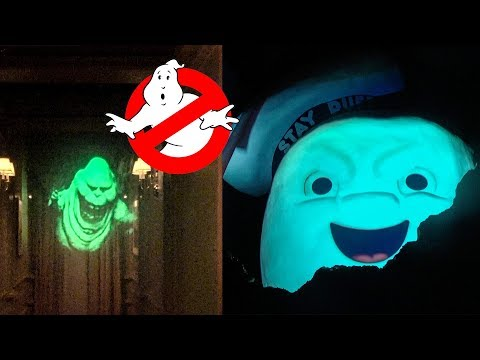 Ghostbusters Maze - Halloween Horror Nights, Universal Studios Orlando