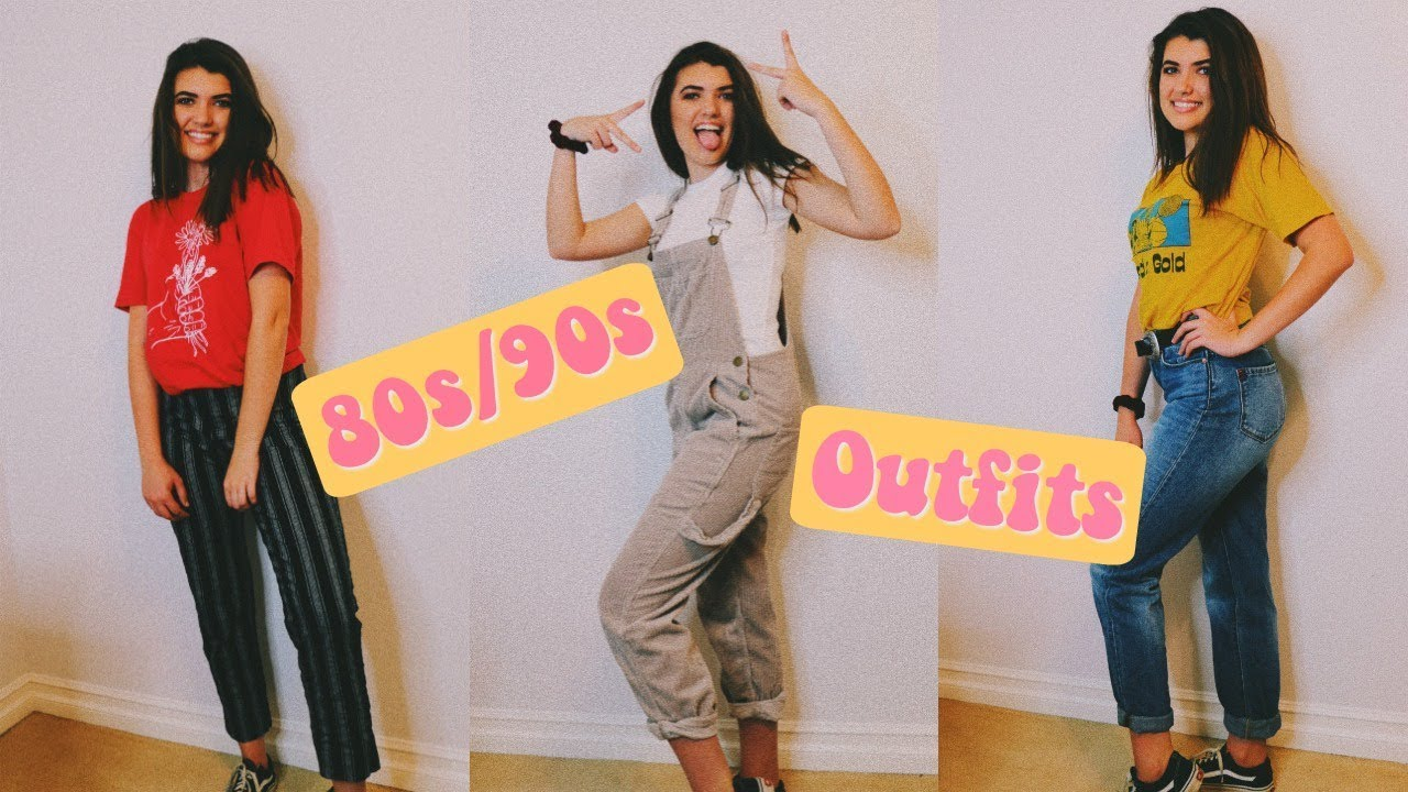 80s/90s outfits
