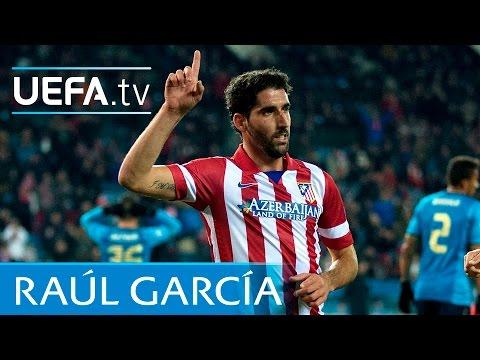 Raúl García Scores Stunning Turn And Volley For Atlético