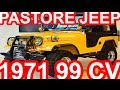 PASTORE Ford Jeep 1971 MT4 4x4 1.8 AP Volkswagen 99 cv 14,9 mkgf #Ford