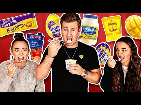 TRYING FOODS THE MERRELL TWINS HAVE NEVER LIKED