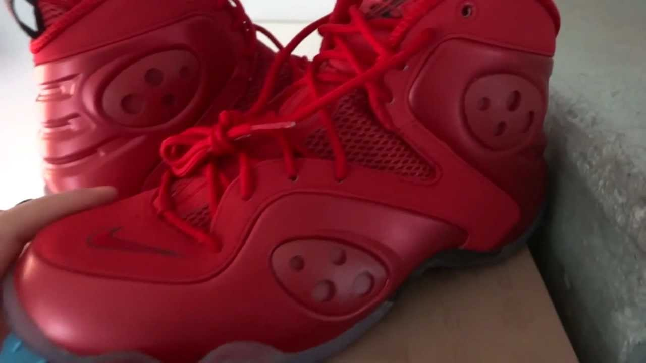 8a5686fd78bc  SOLD  Nike Zoom Rookie red