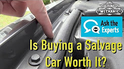 Is Buying a Salvaged Title Car a Good Deal?