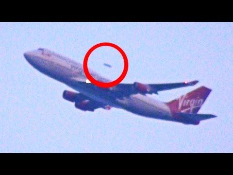 UFO Caught On Video Overtaking Virgin Atlantic Plane  Leaving JFK Airport NY ORIGINAL SOURCE 2015 HD
