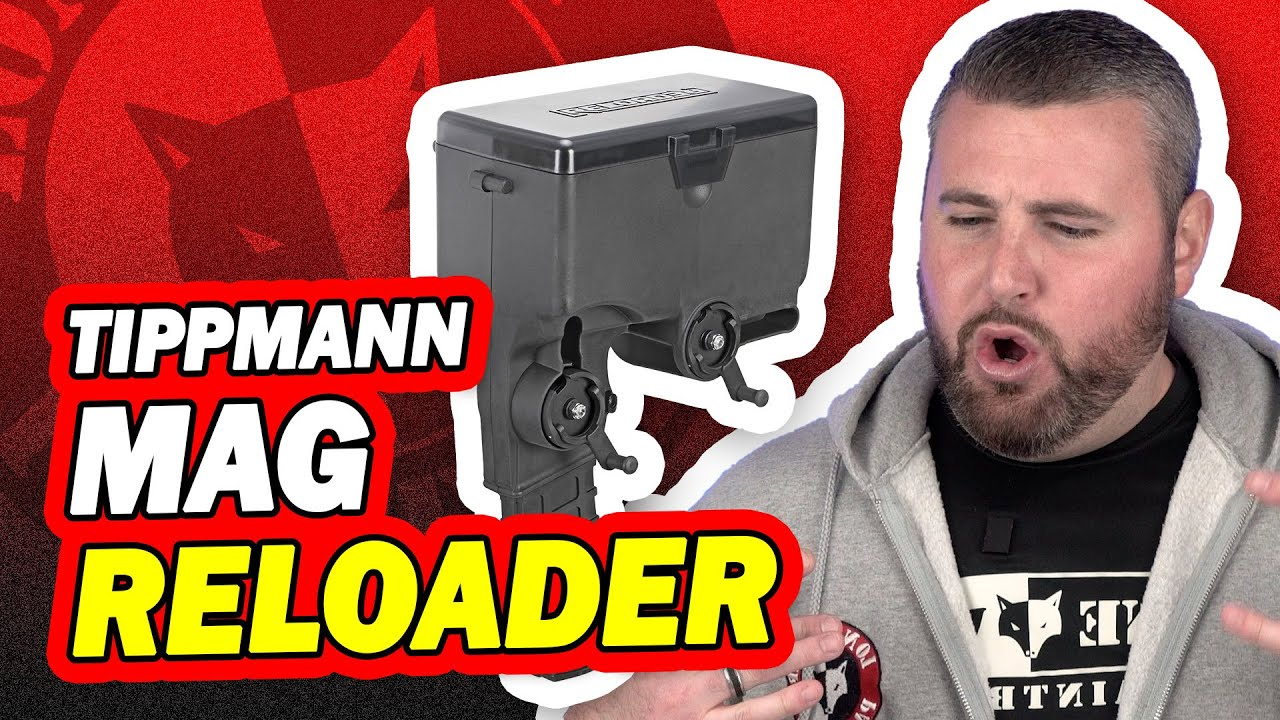 Tippmann TMC / Stormer Magazine Reloader How it Works & Review | Lone Wolf Paintball Michigan