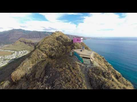 Puu O Hulu - Waianae Pillbox hike and flight