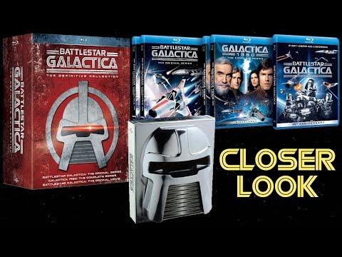Closer Look - Battlestar Galactica (1978-80) Complete Original Series Blu-ray/DVD Sets