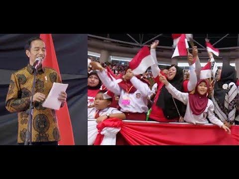 Anak SD di Malaysia Bikin Presiden Jokowi Tertawa, Gara-Gara Penjual Sate Orang Papua