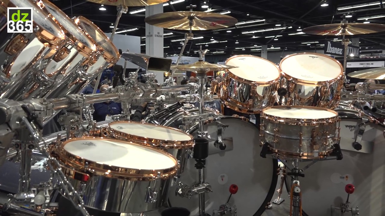 Alex Van Halen 2015 Tour Drums Youtube