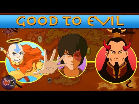 Avatar: The Last Airbender Characters: Good to Evil