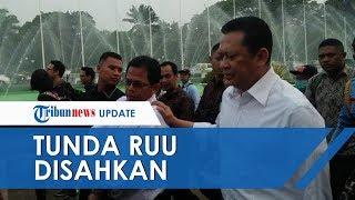 Ketua DPR Bambang Soesatyo Tegaskan Pengesahan RUU Ditunda: Kami Sadar Tidak Mungkin Sepihak