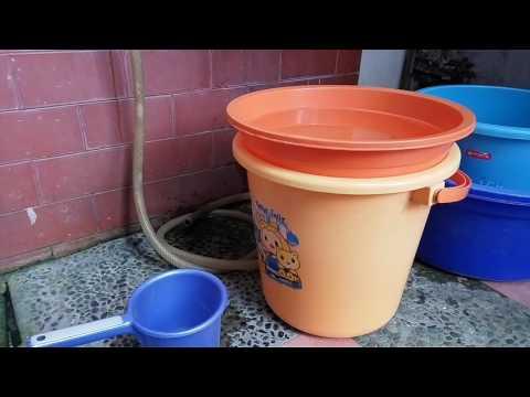 Cara membuat air mancur sederhana dari sedotan