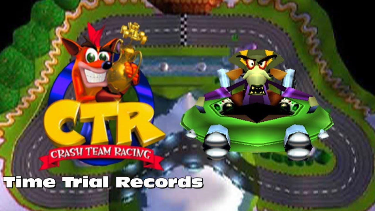 Crash Team Racing Time Trial - Coco Park (N  Oxide Ghost Race) by  FreeNintendo21