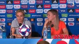 Coupe du monde : Sarina Wiegmann, sélectionneuse des Pays-Bas, avant le quart