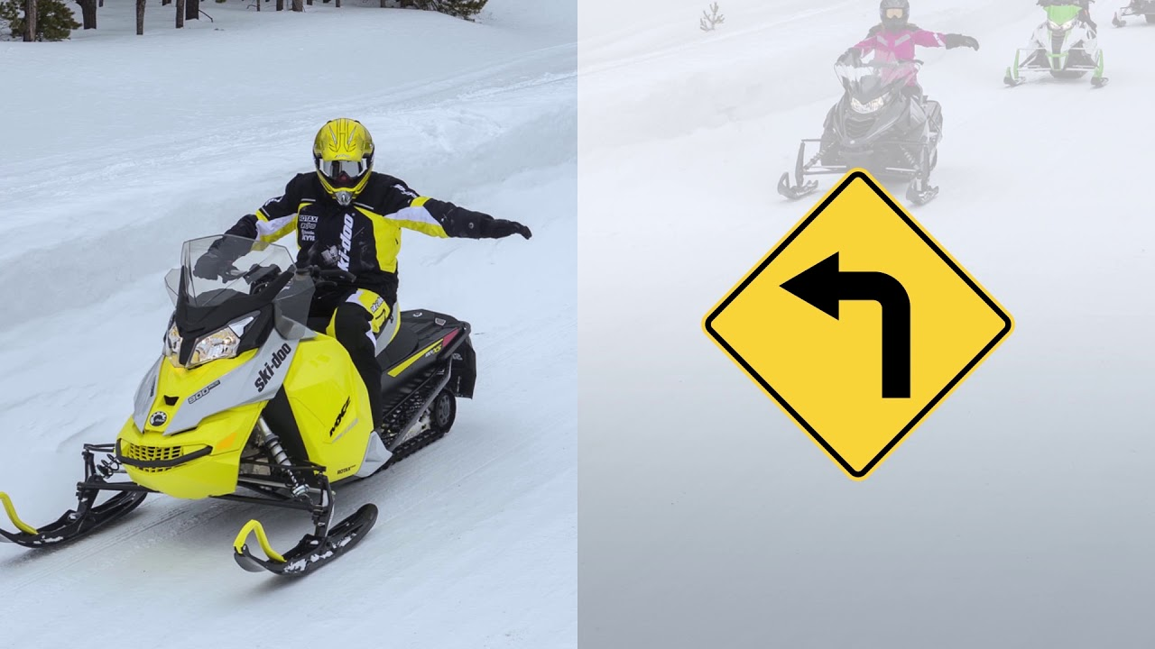 Snowmobiler's Hand Signals | Safe Riders! Snowmobile Safety