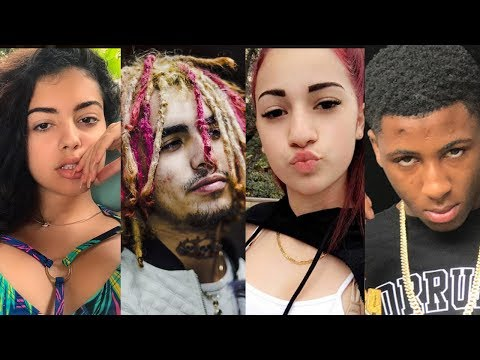 Danielle Bregoli tries to SMASH Lil Pump after Nba Youngboy Made Her Cry and DM Malu Trevejo