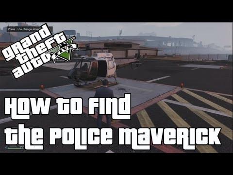Police Maverick - GTA 5 Wiki Guide - IGN