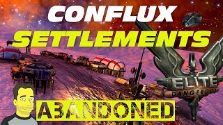 Elite: Dangerous Horizons : Conflux abandoned Settlements and logs  let's play exploration