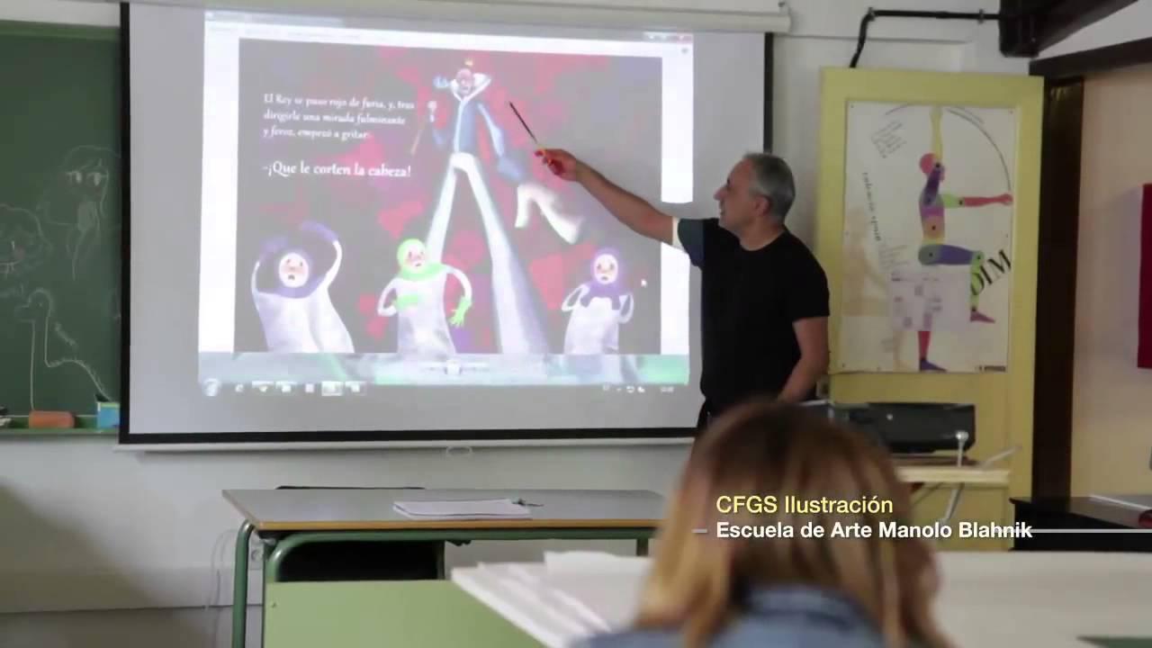 Ciclo Formativo Grado Superior Ilustración Escuela De Arte Manolo Blahnik La Palma