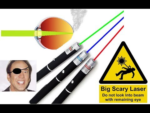 EBay Laser Pointers Are DANGEROUS!!!